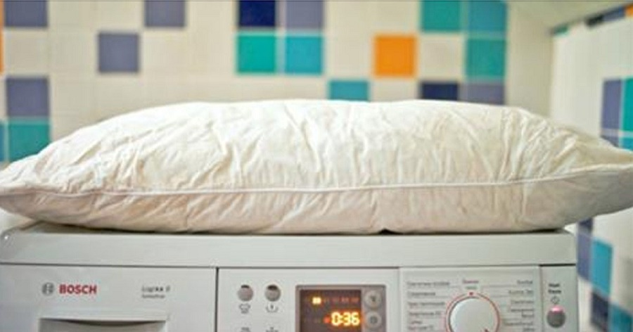 Как стирать подушку в стиральной машине