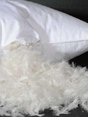 Как постирать пуховую подушку в домашних условиях — ручная и машинная влажная чистка