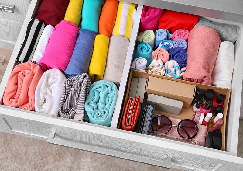 Как складывать вещи в шкафу, чтобы был порядок