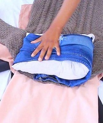 Как сложить вещи в чемодан, чтобы они не помялись