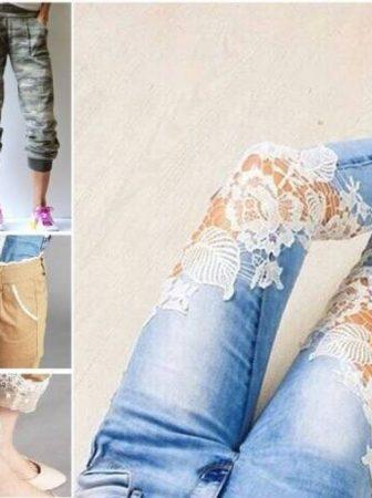 Как удлинить джинсы — различные варианты